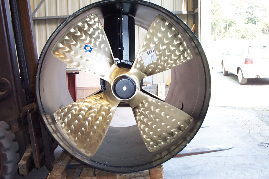 Hydro Armor Sales Bow thruster tunnel thruster hydraulic kw