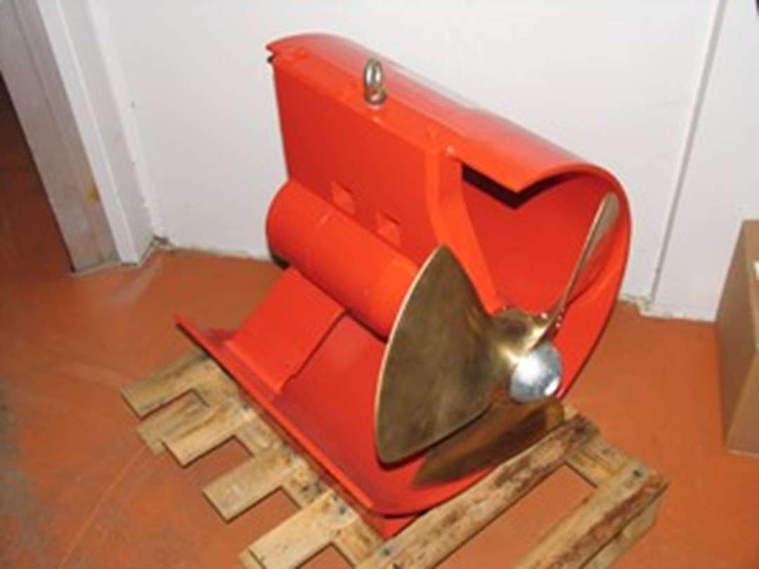 Hydro Armor Sales Bow thruster tunnel thruster hydraulic kw DWG Trading